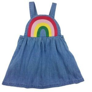 Hanna Andersson 85 cm Rainbow Embroidered Dress